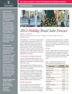 2012 Holiday Forecast
